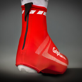 GripGrab RaceAero Lightweight Lycra Shoe Cover Red